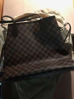 Brand New Louis Vuitton Never Full Bag -Authentic