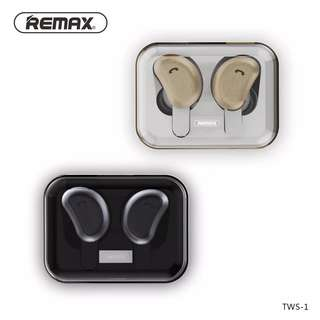 Remax TWS-1 True Wireless Bluetooth Earbuds Earpiece Headset
