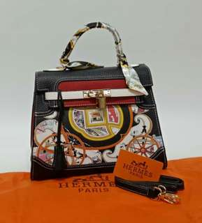 Hermes Kelly Black Wine Color
