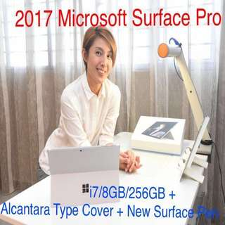 Microsoft Surface Pro - i7/8/256GB + Alcantara Type Cover + New Surface Pen