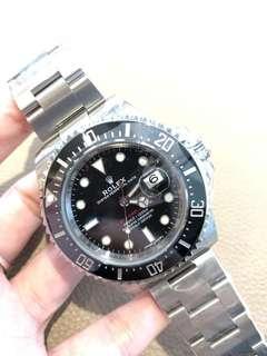 全新Rolex 勞力士 126600 單紅 黑色 五十周年款