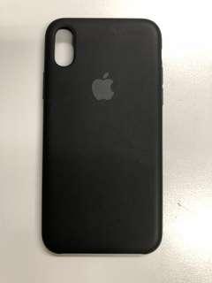 iPhone X 原廠矽膠保護套(有少花)