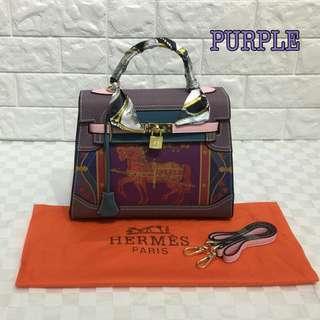 Hermes Kelly Pastel Purple Color