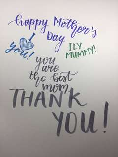 Customisable Mother's Day Card