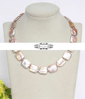 Lustrous Genuine Baroque Keshi Pearls Necklace  光亮真巴洛克Keshi珍珠項鍊