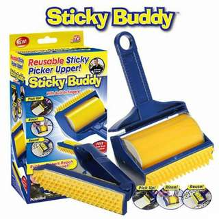 Sticky Buddy Roller 2in1 Heavy Duty Roller