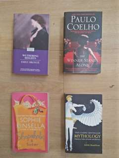 The Winner Stands Alone / Wuthering Heights / Shopaholic & Sister / Mythology