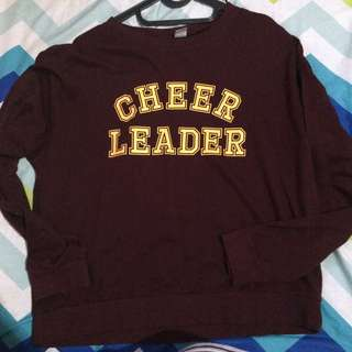 Sweatshirt h&m cheerleader