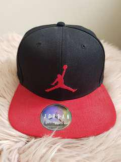 AIR Jordan black/red snapback