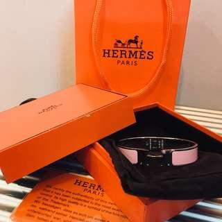 Hermes pink Bangle
