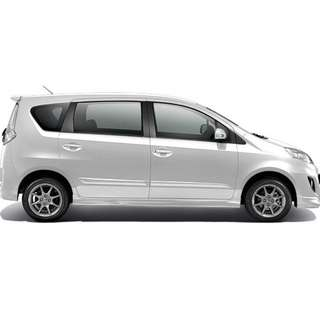 Private transport to any part of Malaysia