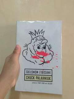 Invisible Monsters by Chuck Palahniuk PRICE REDUCED!!