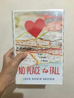 No Place To Fall Hardbound
