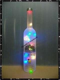 BELVEDERE CITRUS 1L Multicolored Fairy Light LEDs Bottle
