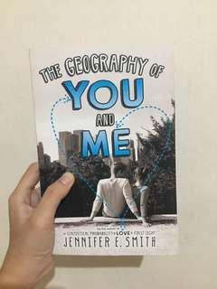 The Geography Of You and Me Pb
