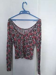 floral long sleeve (cotton)