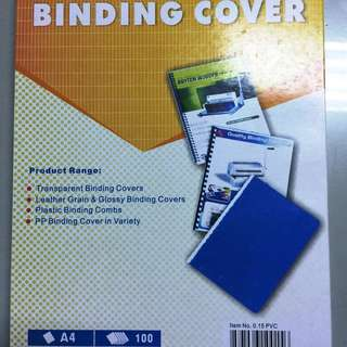 Bindermax Binding Cover