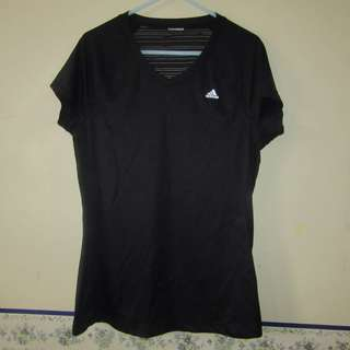 m-l Adidas Climalite active drifit ladies shirt (authenticity not guarantee since removed tag)