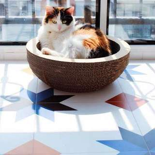 [BN] Cat Bowl-shaped Scratcher