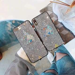🚚 iPhoneX,8,7,6大小系列 獨角獸🦄️亮片手機殼
