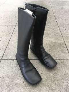 🚚 真皮防水馬靴子