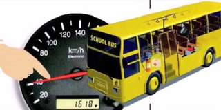 Speed limiter for bus and truck