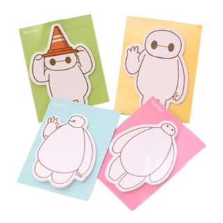 Baymax Post It Notes Memo Pad Set