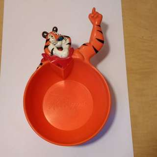 Vintage Kellogg's Tony the Tiger Bowl