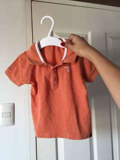 Baby guess top 6-12 months