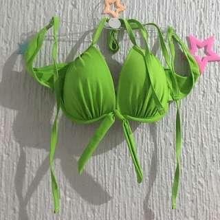 Green Halter Top Swimsuit