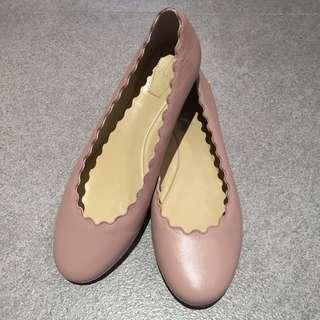 Chloe Style Ballerina Flats (38)