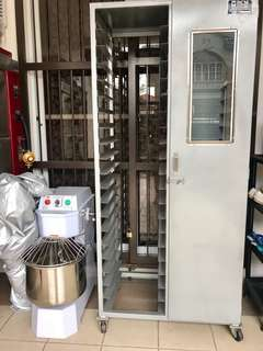 Proofing/Cooling Rack and Spiral Mixer for Sale