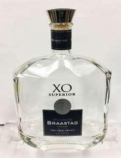 BRAASTAD 1875 COGNAC XO SUPERIOR 1L 吉酒樽一個