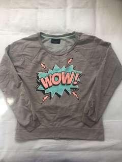 Sweatshirt - Grey - Size 6