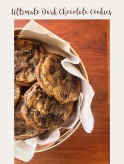 Ultimate Dark Chocolate Cookies