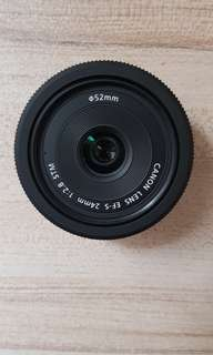 Canon 24mm f 2.8 STM