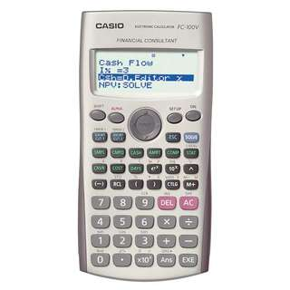 🚚 Casio Financial Consultant FC-100V