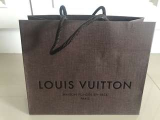 Louis Vuitton Paper Bag