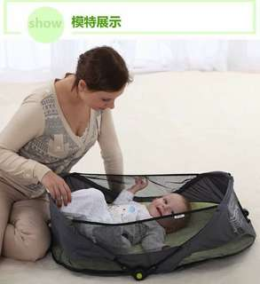 Baby foLding bed