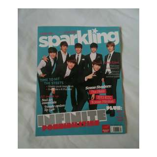 Sparkling Magazine (Infinite & Super Junior Front Page)
