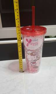 Hello kitty red tumbler