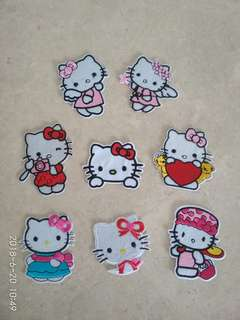 Iron On Patch - Hello Kitty Set