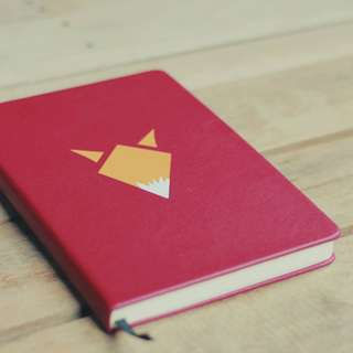Volpe PU Leather Notebook