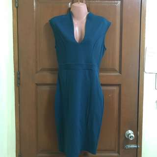 Hip Couture Teal Dress