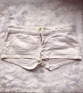 Sexy White Shorts