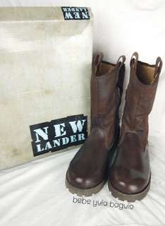 New Lander Leather Boots