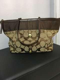 Coach Canvass Bag