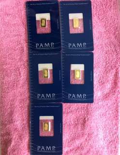 999 Pure Gold Bars + Zodiac Gold Coins (999) ❤️❤️
