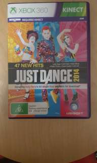 Just Dance Xbox 360 Kinect required with almost no scratches