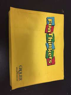 Grolier set ( fun thinkers book) to sell